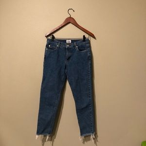 Cropped Hudson Jeans